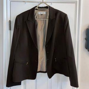 NWOT Tahari brown blazer